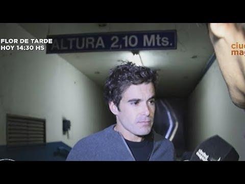 Nicolás Cabré se plantó con Benjamín Vicuña