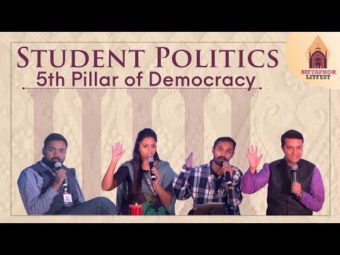 Students' Politics - 5th pillar of democracy | Lucknow Literature Festival 2016