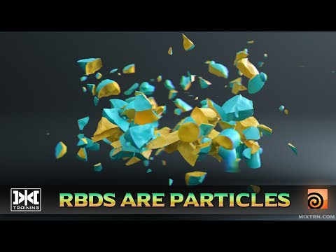 VMT 047 - Houdini - RBDs Are Particles