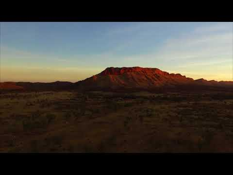 Alice Springs Drone footage