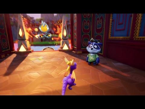 Spyro The Dragon 3 2 5 Terraza De Bambu Reignited Camino Al 100