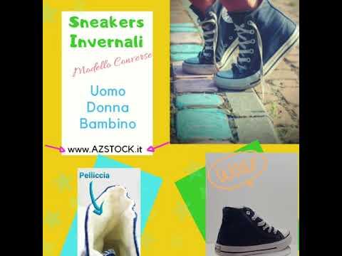 sneakers donna converse inverno