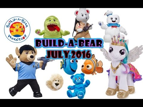 Build a bear store star trek the ghostbusters finding dory for Finding a builder