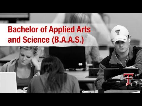 Texas Tech: Online B.A.A.S.