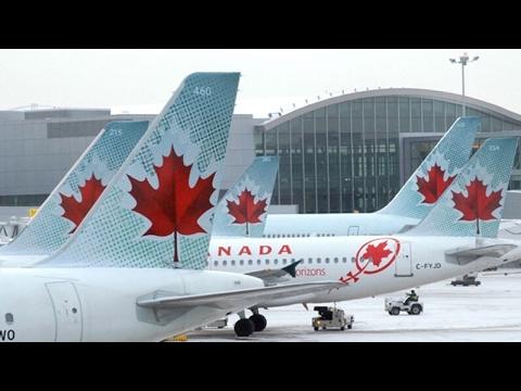 VOANDO PARA TORONTO COM A AIR CANADA