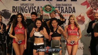 Anahi Torres has to strip naked to make weigh vs Louisa Lulu RUNGVISAI vs ESTRADA