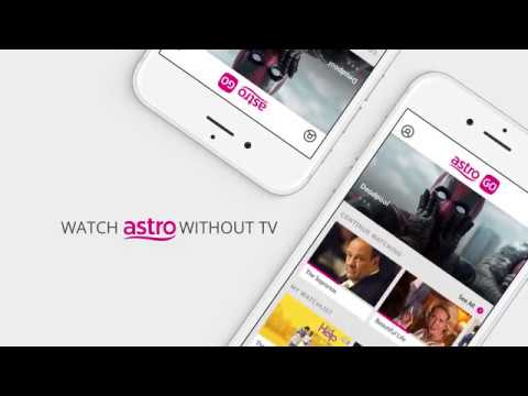 Astro GO -- Free App to Watch Astro without TV | LiewCF Tech