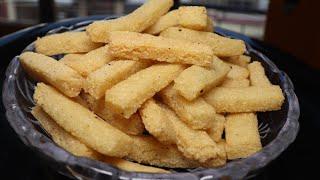बिना आलू के ऎसे फ्रेंच 🍟 फ्राइस आपने पहले नहीं खाए होंगे /extra crispy and tasty French fries recip