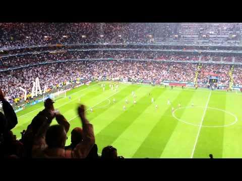 Champions League Final Lisbon 2014: Real Madrid-Atletico Madrid, Sergio Ramos goal!