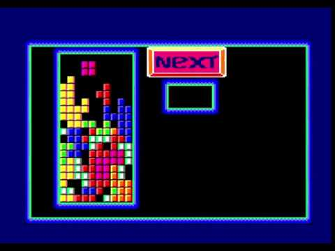 Tetris In Assembler - Amstrad CPC