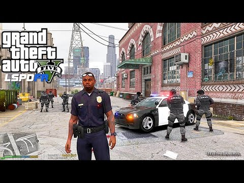 GTA 5 LSPDFR 0.3.1 - EPiSODE 28 - LET'S BE COPS - CITY PATROL (GTA 5 PC POLICE)