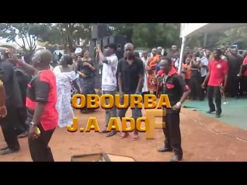 OBOUBA  J A  ADOFO STORMS BEREKUM WITH YAA BOATEMAA AND OWUO MPASO