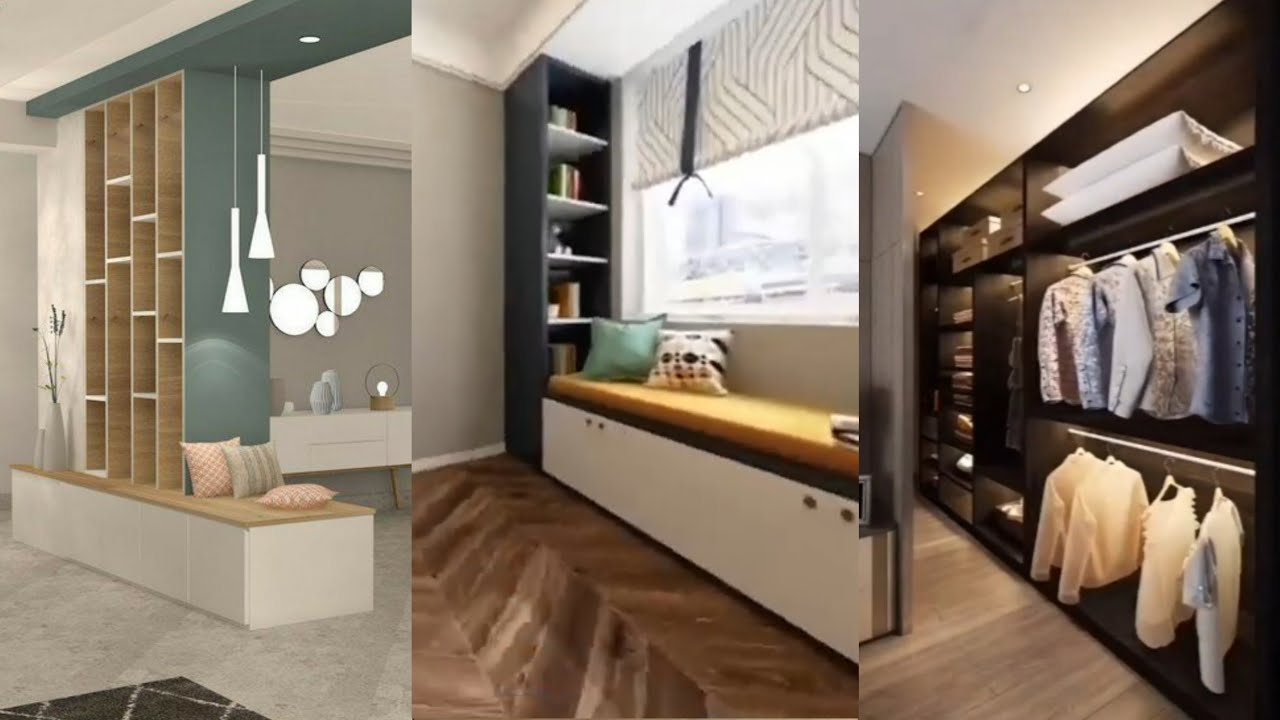 5 Small home interiors with space saving furniture design 2020