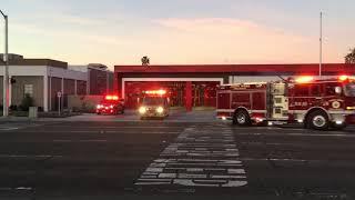 Costa Mesa Fire Station One Responds