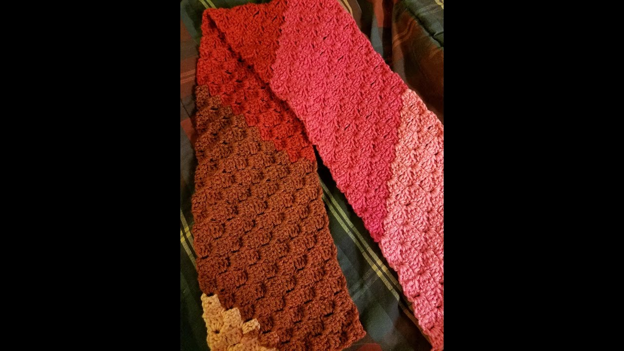 Crochet Stitches - The Corner to Corner Stitch / Scarf Pattern