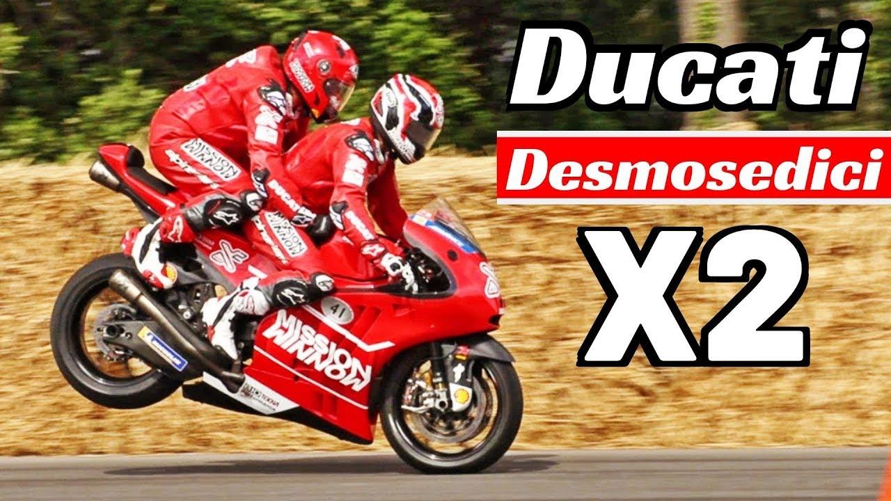 2x 2012 Motogp Ducati Desmosedici Biposto X2 Randy Mamola