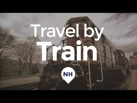 The Best New England Train Ride? - North Conway Scenic Railroad, New Hampshire Train Station