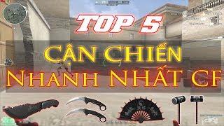 TOP 5 - CẬN CHIẾN NHANH NHẤT ĐỘT KÍCH - Rùa Ngáo