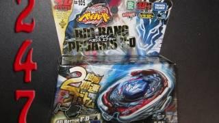 Unboxing a BB-105 4D Big Bang Pegasus F:D Takara Tomy Beyblade Hybrid Wheel Attack
