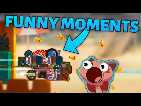C.A.T.S FUNNY MOMENTS & BEST BATTLES MONTAGE - Crash Arena Turbo Stars