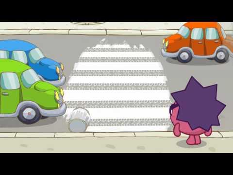 Мультфильм смешарики пешеходная зебра