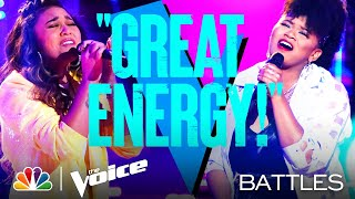 "Ciana Pelekai vs. Denisha Dalton - Tate McRae's ""you broke me first"" - The Voice Battles 2021"