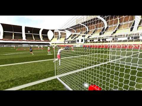 VESoccer. A football video game in Second Life