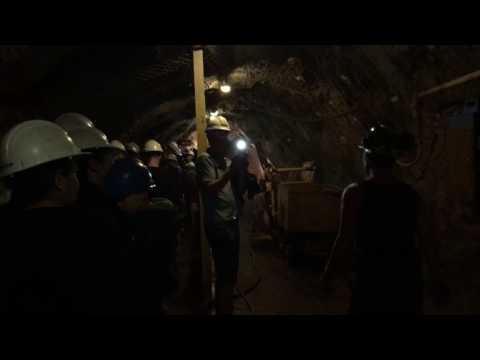 Britannia Mine Guided Tour : Part  2 Inside The Britannia Mine.