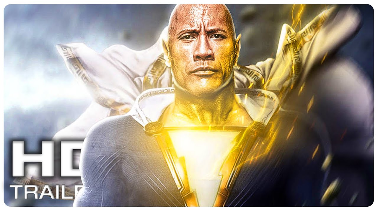 BLACK ADAM Teaser Trailer First Look (NEW 2021) Dwayne Johnson Superhero Movie HD