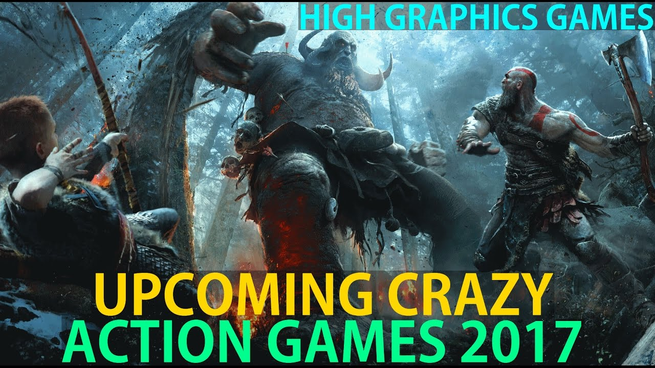Top 10 Most Awaiting Upcoming Action Games 2017 New Ps4
