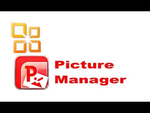 Microsoft Office Picture Manager редактор фотографий и быстрое редактировоание фотографий