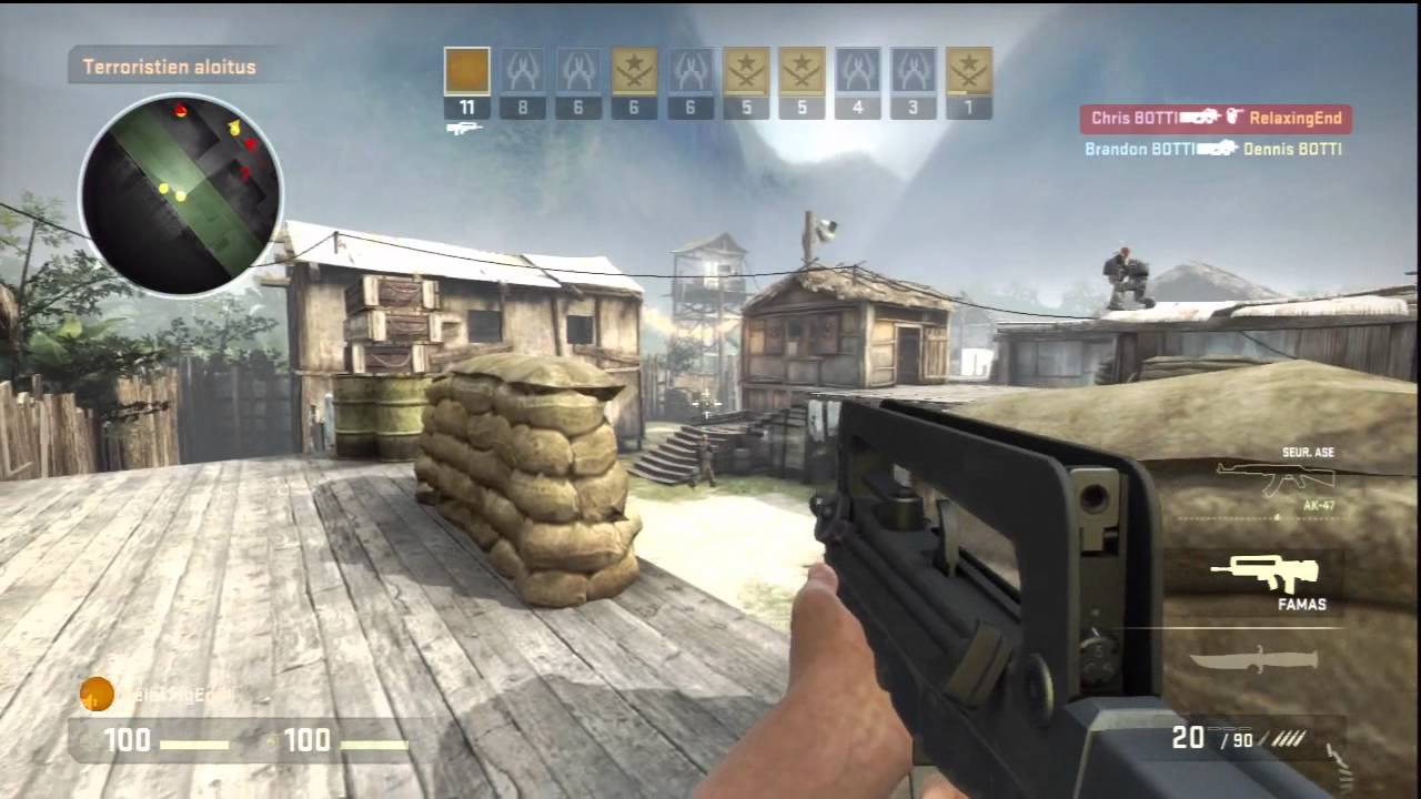 Cs:go ps3 gameplay counter-strike: global offensive arms race on.