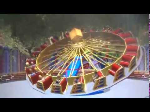 ALI Brothers Ballerina Rides hully gully Family Amusement Park ...