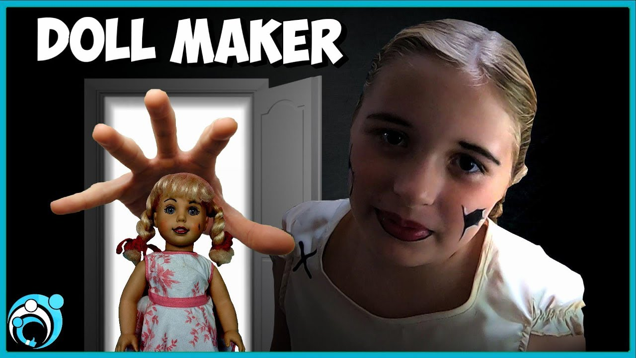 The Dollmaker Turned Her Into A Creepy Doll Thumbs Up Family Youtube Doll Maker Scary Dolls Dolls