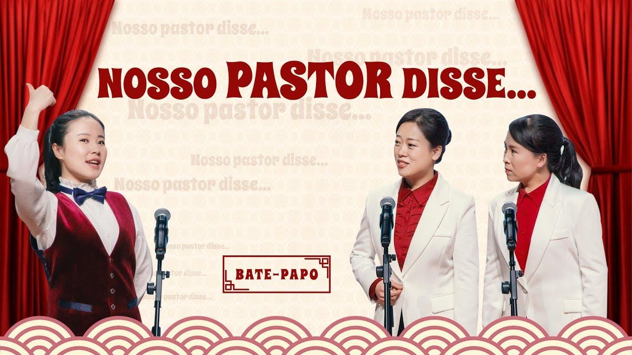 """Bate-papo """"Nosso pastor disse…"""" Acredite no Senhor Jesus que deveria ouvir de quem"""