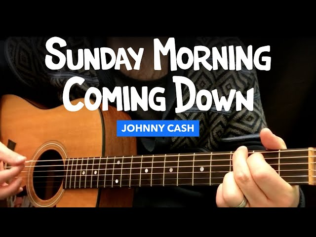 Song notes 🎸 sunday morning coming down guitar lesson w/ chords ...