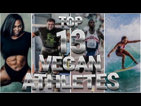 Top 13 Vegan Athletes  |  Venus Williams/Patrik Baboumian/Nick Diaz