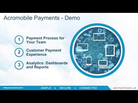 Webinar Recording: Acromobile Payments - Secure Payments Thr