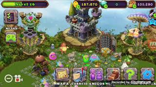 Minha conta no my singing monsters