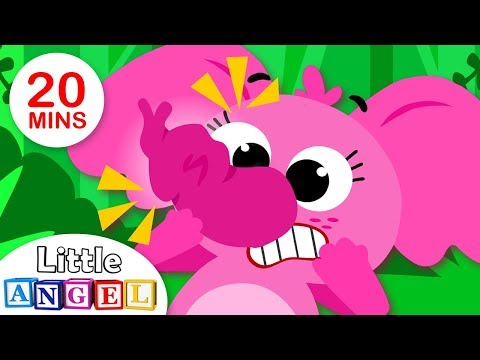 Baby Elephant Can't Blow Bubbles | Where O Where has my Little Dog Gone? Song for Toddlers