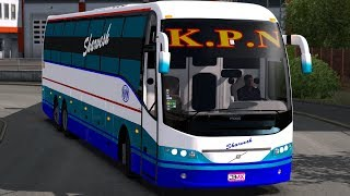 Download Video 🔴 K.P.N Travels Volvo Sleeper Bus | ETS2 Indian Bus Mods MP3 3GP MP4