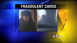 Cameras help catch suspects using fraudulent ATM