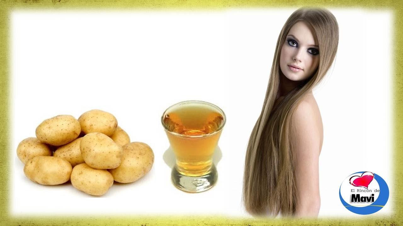 Jugo de patata o papa para el crecimiento del cabello - Ambientadores naturales para la casa ...