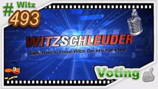 Witz 493 - Der Stotterer im Zugabteil [ german / deutsch - Full - HD ]