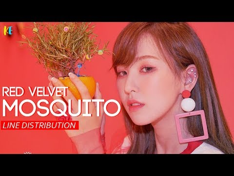 Red Velvet (레드벨벳) - Mosquito | Line Distribution