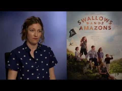 Swallows & Amazons interview: hmv.com talks to  Kelly Macdonald & Rafe Spall