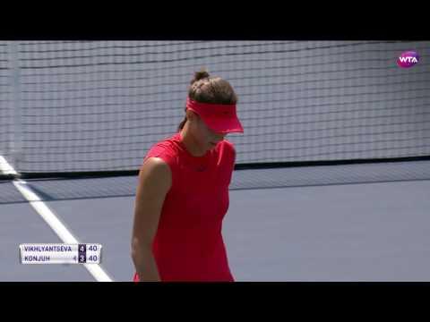 2017 Bank of the West Classic Second Round | Natalia Vikhlyantseva vs Ana Konjuh | WTA Highlights