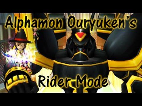 Unlocking Alphamon Ouryukens Rider Mode | Code In Alpha | Digimon Masters Online