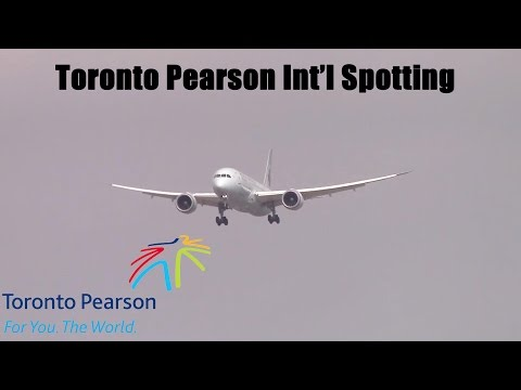 Toronto Pearson International Airport Spotting: February 27, 2016