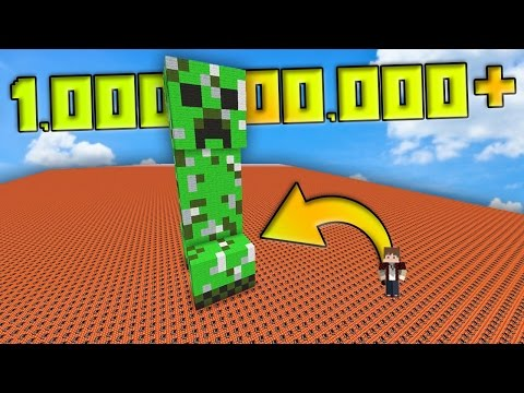 HOW MUCH TNT DOES IT TAKE TO EXPLODE THIS CREEPER...?!